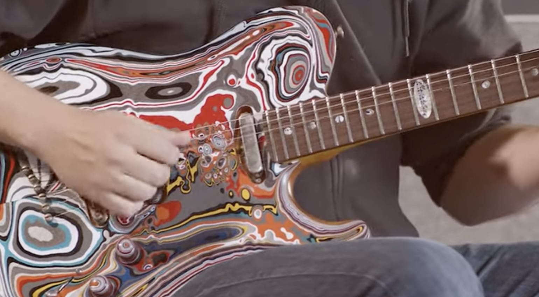 Fordite Guitar