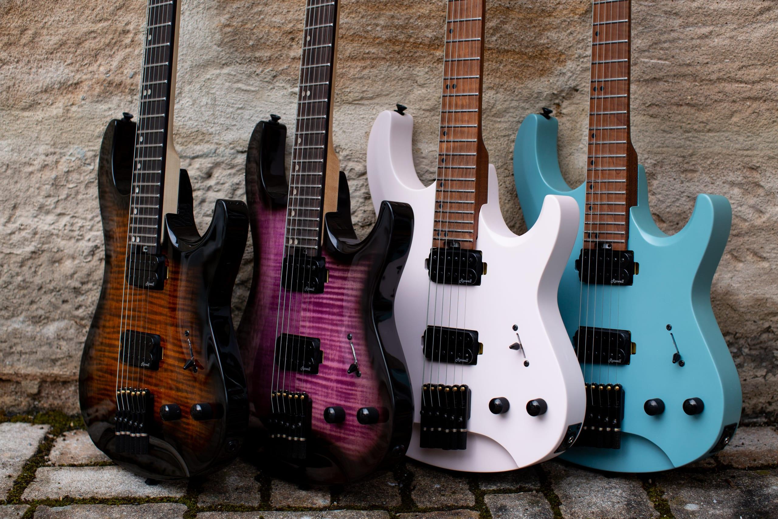 Harley Benton Dullahan new colours