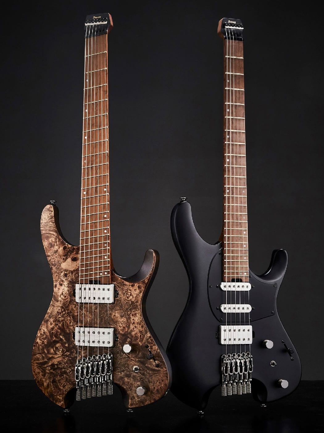 Ibanez QX527PB-ABS and Q54-BKF