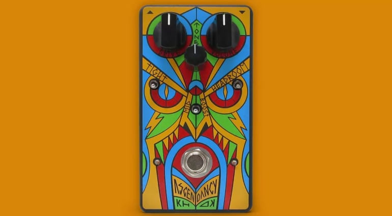 KHDK Electronics works with Trivium for the new Ascendency overdrive