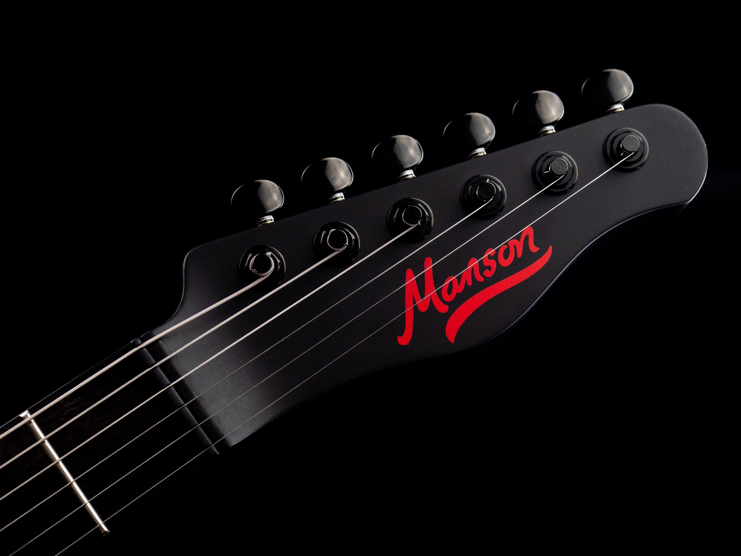 Manson MB Signature KR-1 headstock