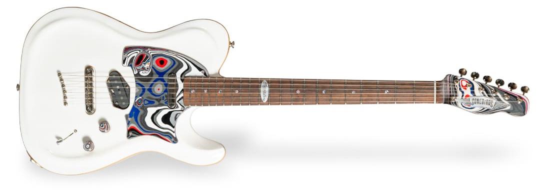 Songbirds Foundation MotorCity Fordite Guitar