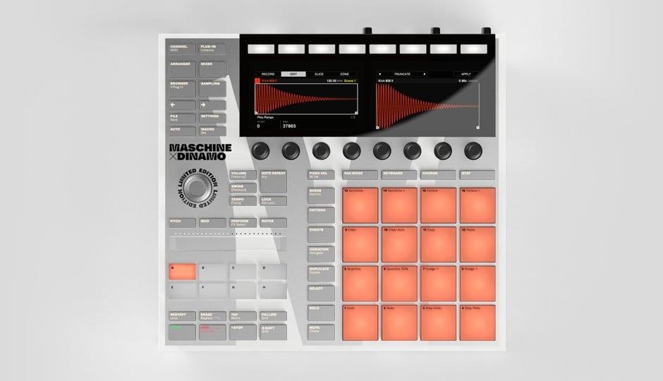 Native Instruments Maschine MK3 Dinamo front