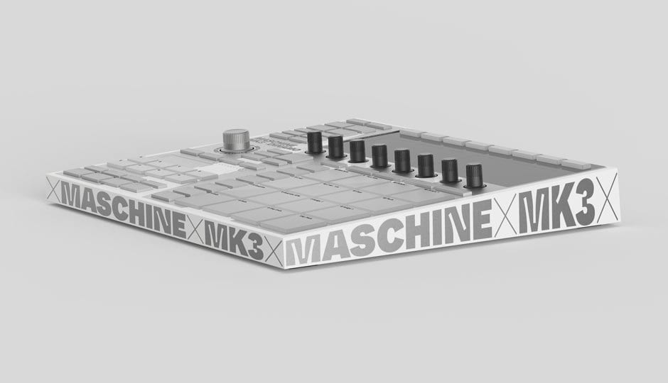 Native Instruments Maschine MK3 Dinamo side