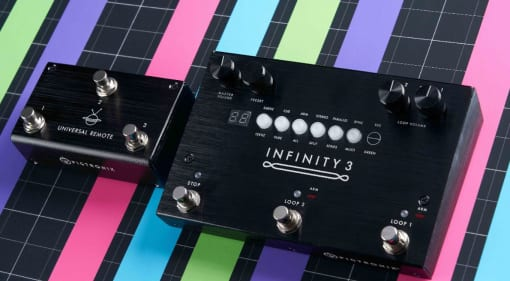 Pigtronix announces New Infinity 3 Deluxe Looper and Universal Remote
