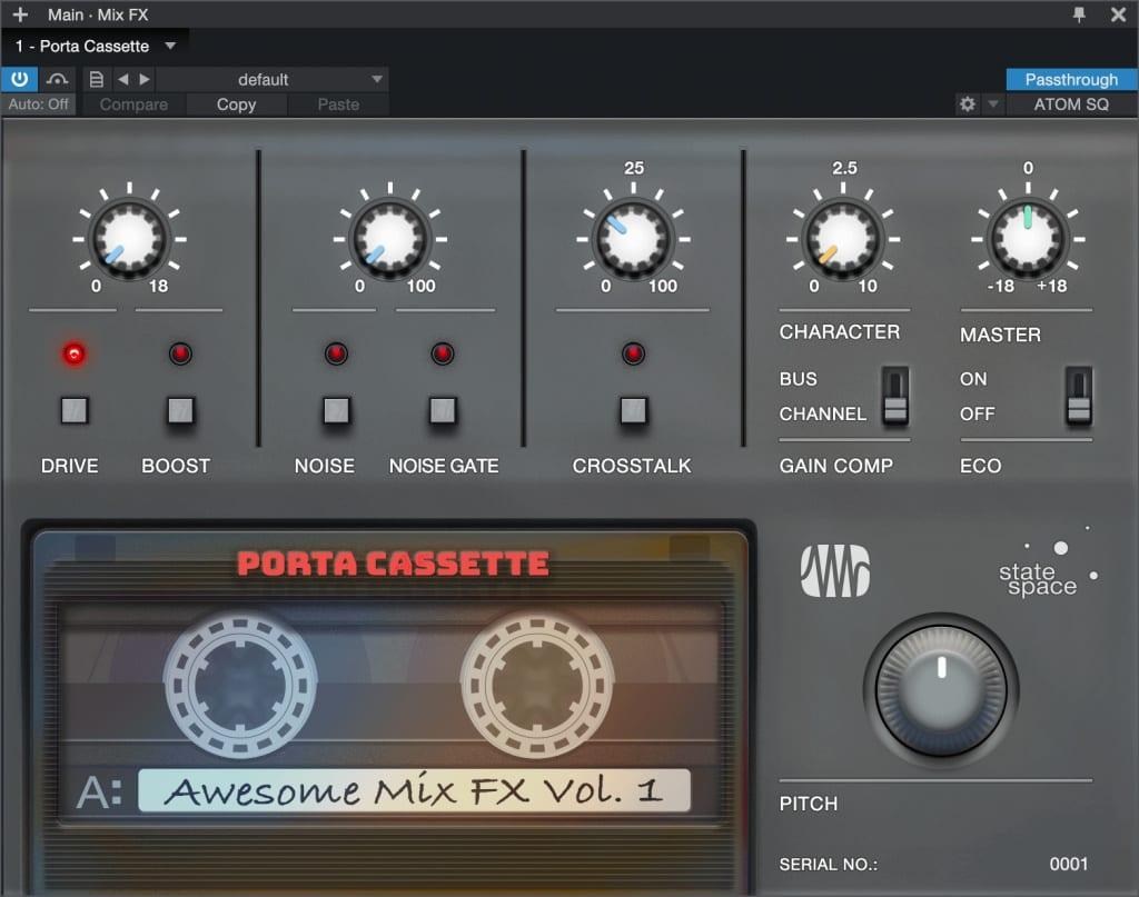 PreSonus Porta Cassette