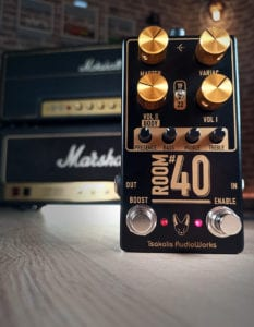 Tsakalis AudioWorks Room #40 a Marshall stack or three in a pedal!