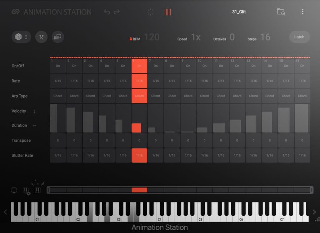 Sample Logic Animation Station screenshot