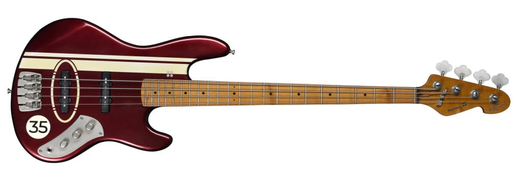 Sandberg California TT in Ruby Red with creme racing stripes
