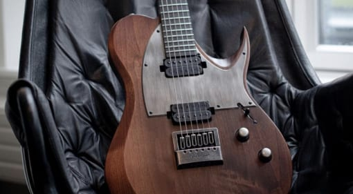 Solar Guitars T1.6 AN a T-style distressed look shredder