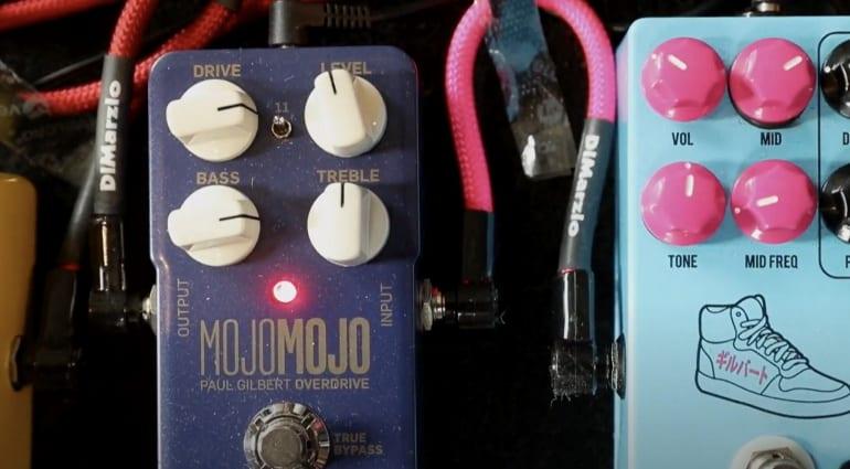 TC Electronic Paul Gilbert MojoMojo pedal goes to 11