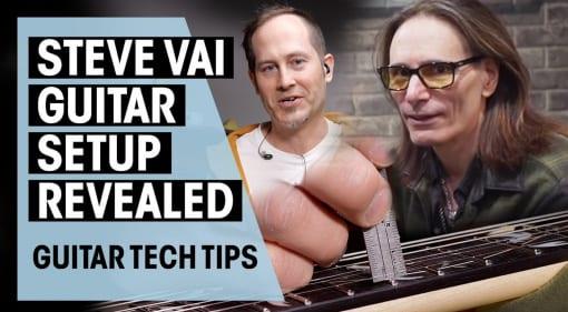 Steve Vai Guitar Tech REVEALS Setup
