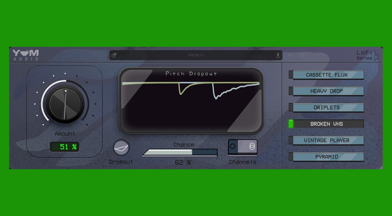 Yum Audio LoFi - Pitch Dropout