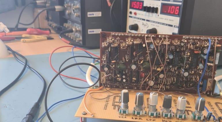 Behringer DS-80 development