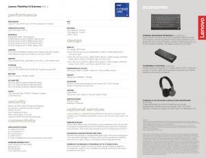 Thinkpad X1 Extreme Gen4 Specs 2