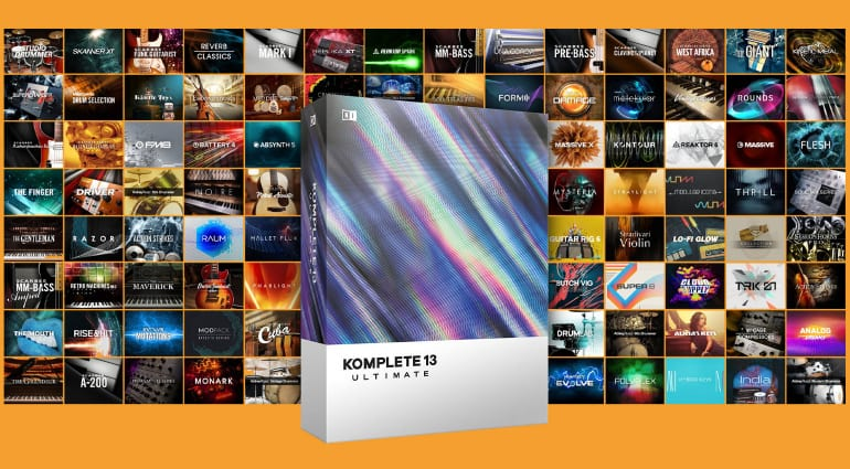 Deal: Save up to 50% when you upgrade to NI Komplete 13