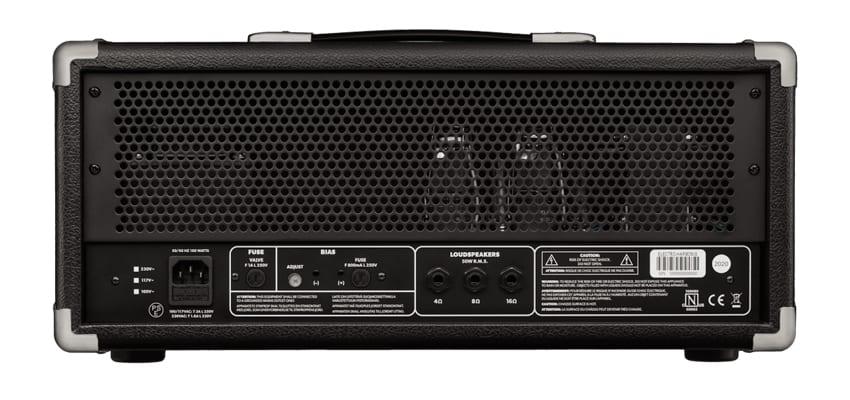 Electro-Harmonix MIG-50 rear panel with three dedicated speaker outputs