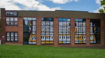 Moog Factory in Asheville