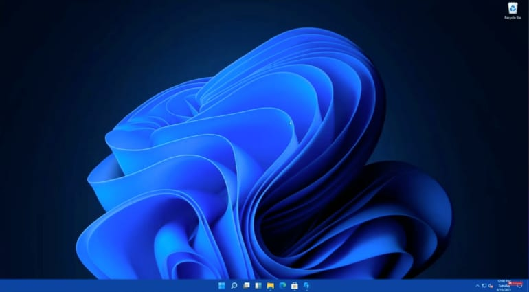 Windows 11's new-look interface