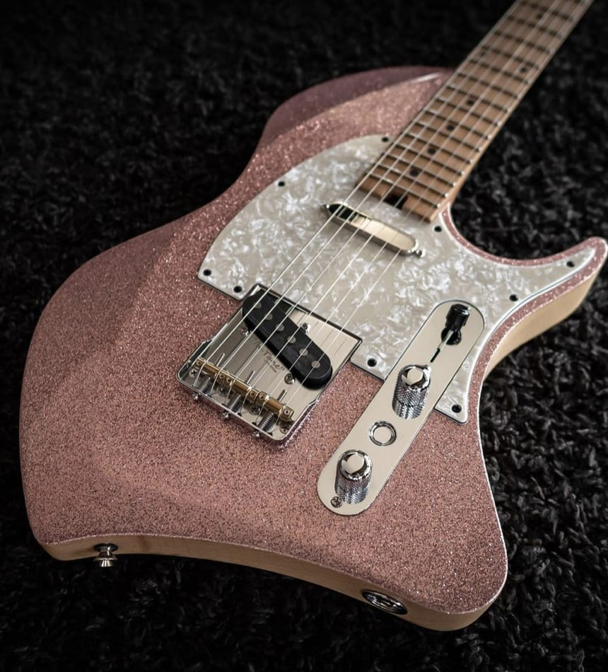 Abasi Concepts Space T Pink Champagne
