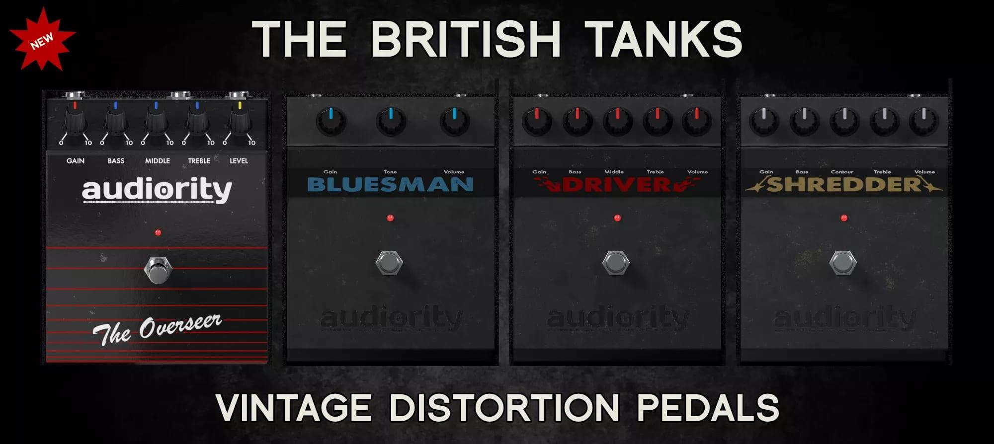 Audiority British Tanks Collection