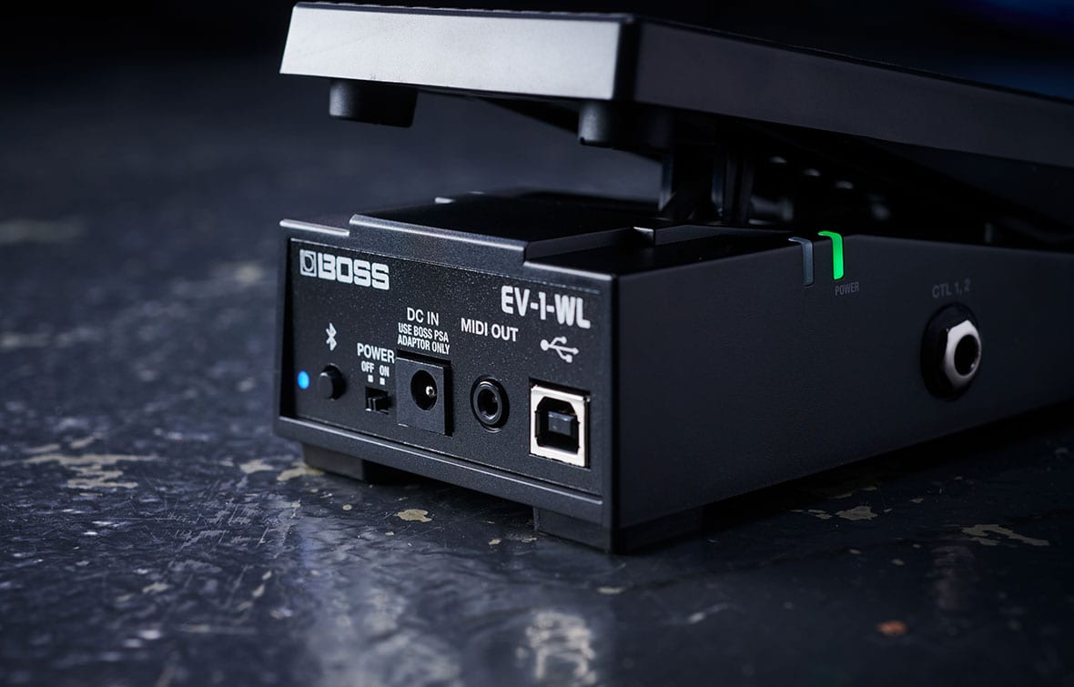 EV-1-WL Wireless MIDI Expression Pedal.