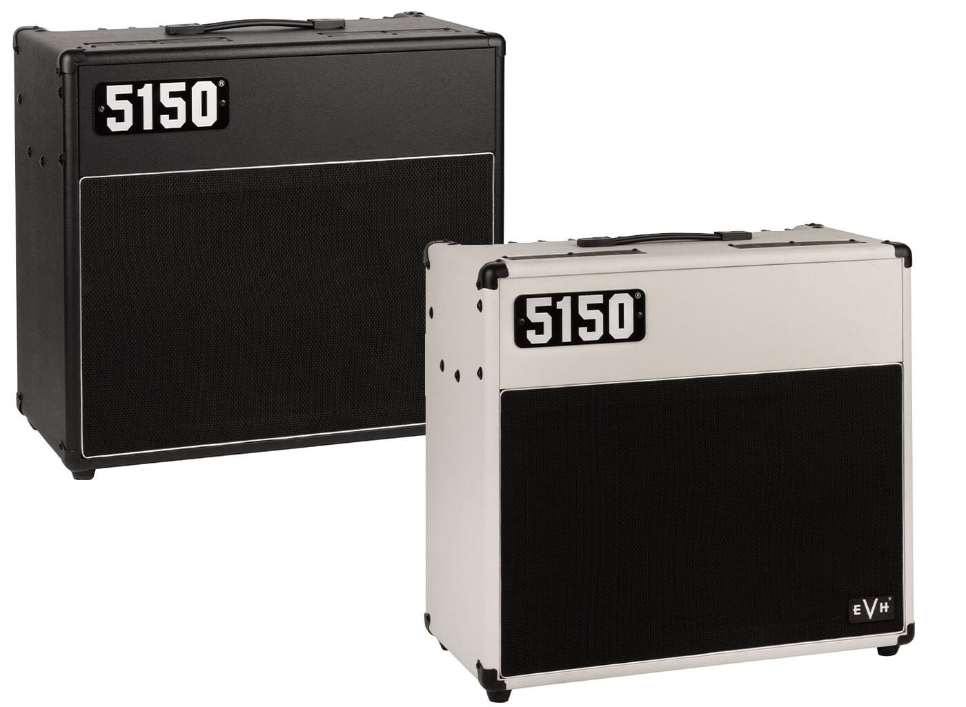 EVH 5150 combos in black and ivory