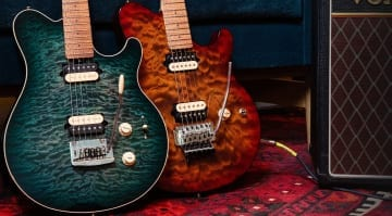 Ernie Ball Music Man Axis 2021 new finishes