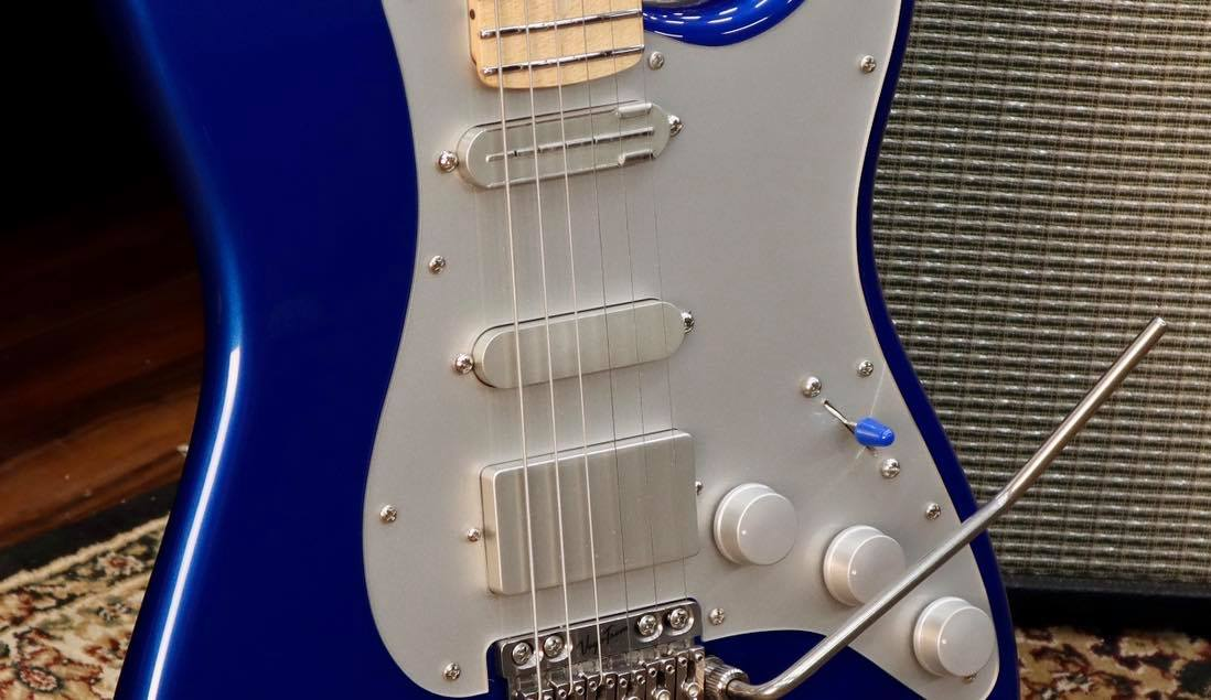 Fender Adrian Belew Stratocaster with silver hardware