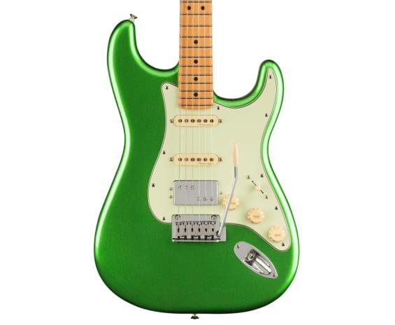 Fender Player Plus Series Cosmic Jade HSS layout