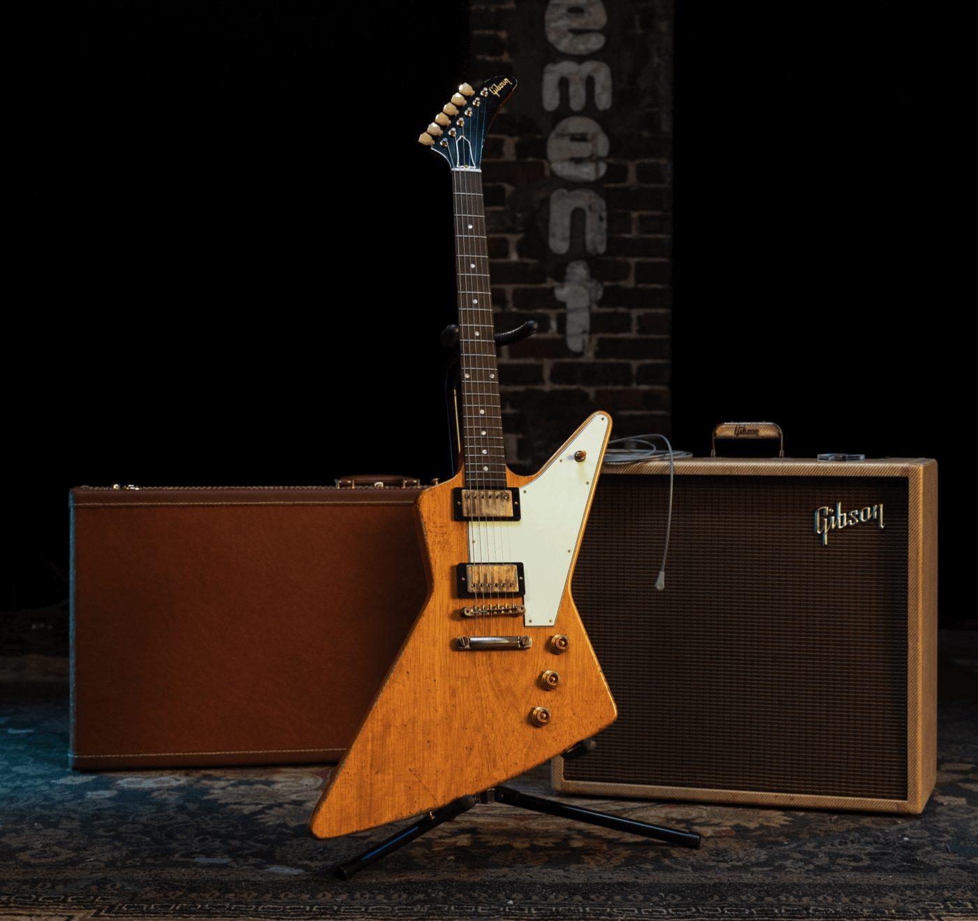 Gibson Collectors Edition 1958 Korina Explorer