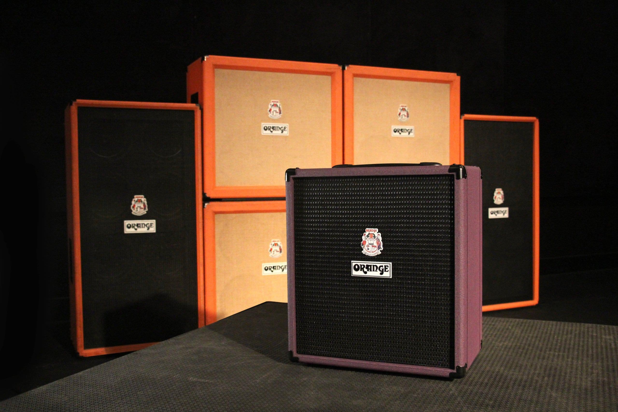 Orange Glenn Hughes Signature Model Crush Bass 50