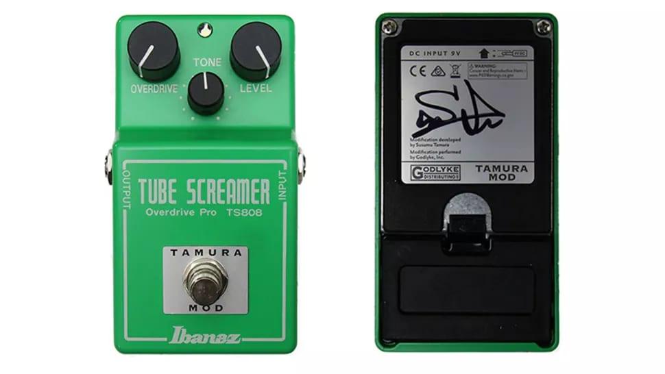 Godlyke limited edition Tamura-modded TS808 hand signed