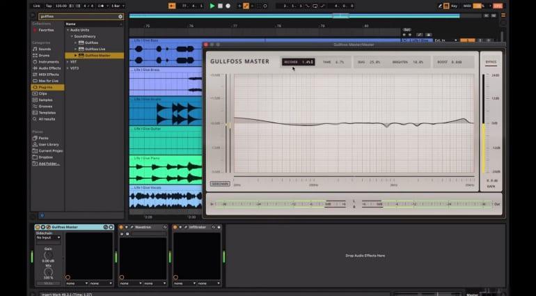 Gulfoss Master in Logic Pro