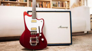 Harmony Guitars Silhouette with Bigsby launched