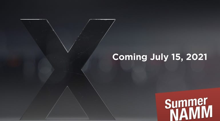 IK Multimedia X teaser