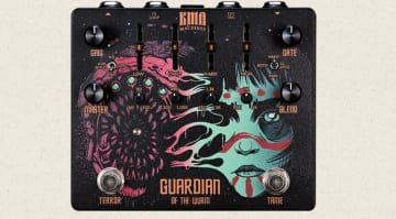 KMA Machines GUARDIAN of the WURM- High-Gain Distortion Pedal