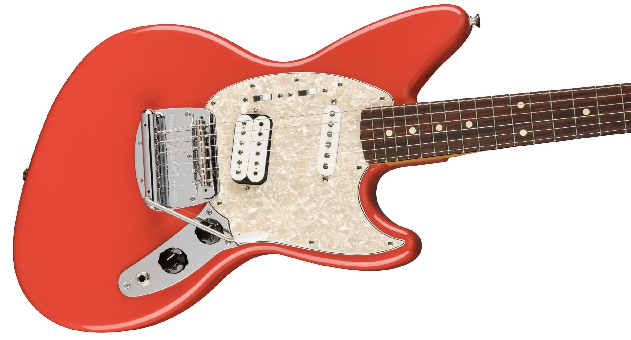 Kurt Cobain Jag-Stang Fiesta Red