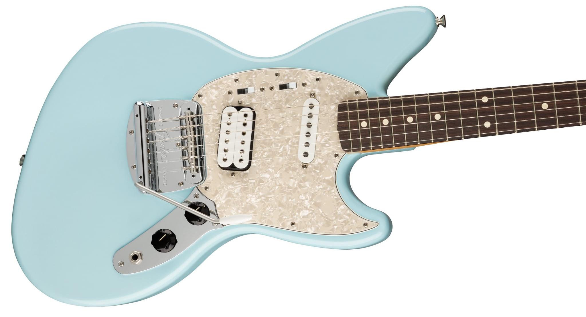 Kurt Cobain Jag-Stang Sonic Blue