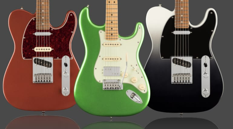 Leak- Fender Player Plus Series