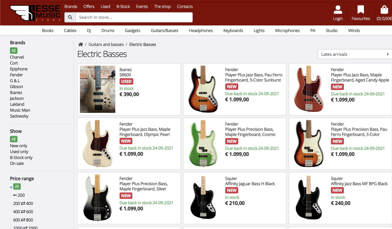 Leak- Fender Player Plus Series new basses spotted as well