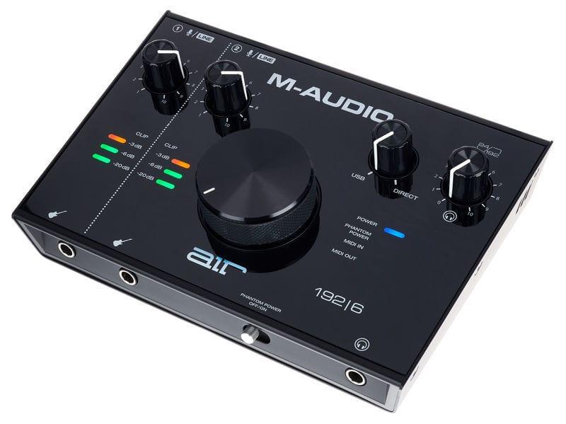 M-Audio AIR 192|6 audio interface with MIDI