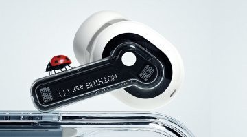 Nothing ear (1) new futurist earbuds developed with Teenage Engineering.