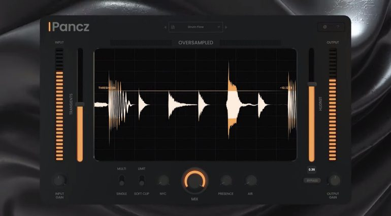 Pancz Multiband Sound Shaper Plug-in by Oversampled