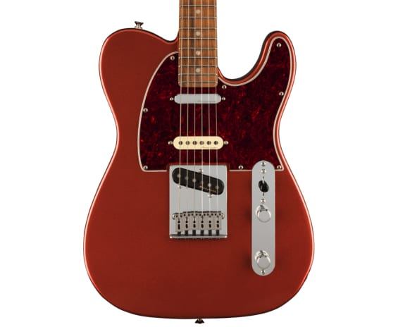 Player Plus Nashville Telecaster, Pau Ferro Fingerboard, Aged Candy Apple Red