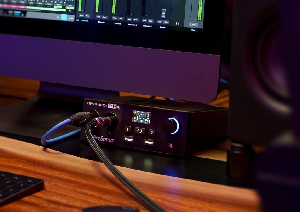 PreSonus Revelator io24 in use