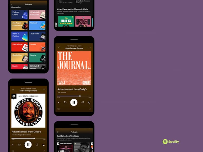 Spotify streaming platform could be expanding.
