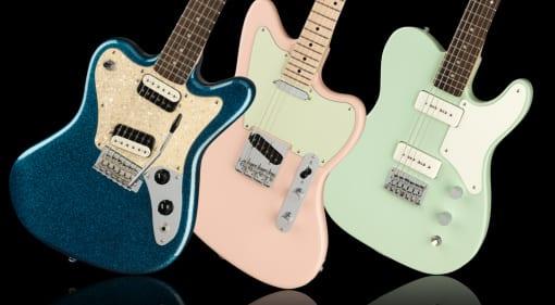 Fender brings back the Squier Paranormal Range