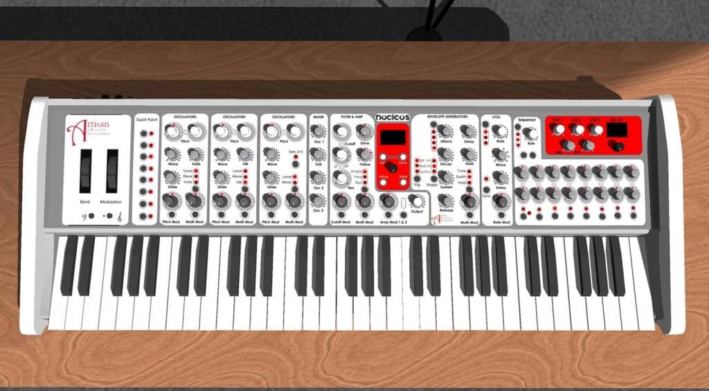 Artisan Electronic Instruments Poly-keys