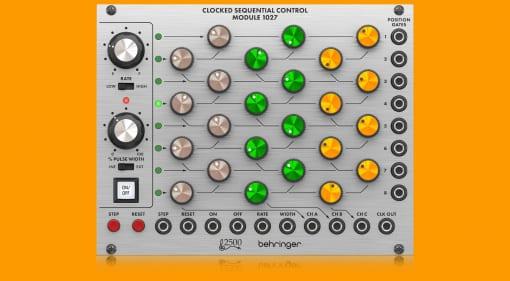 Behringer 2500 series 1027 module